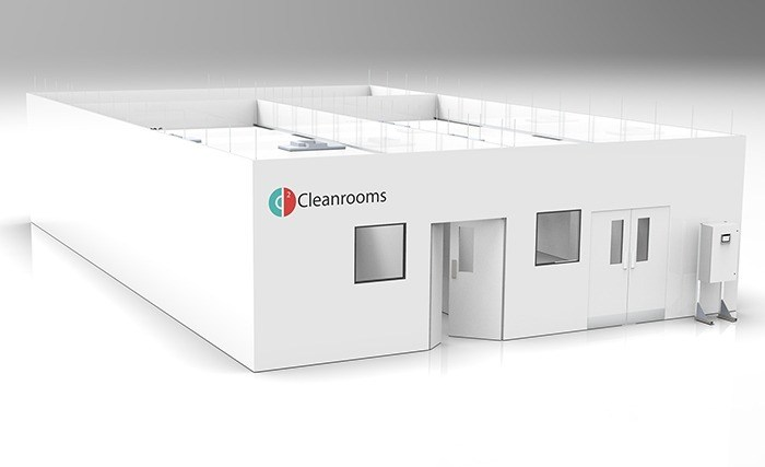Cleanroom production of COVID-19 lateral flow antibody testing kits