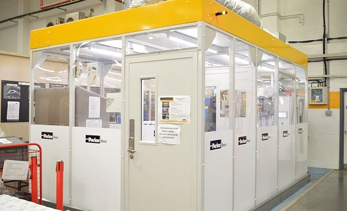 Parker Hannifin Laboratory Cleanroom