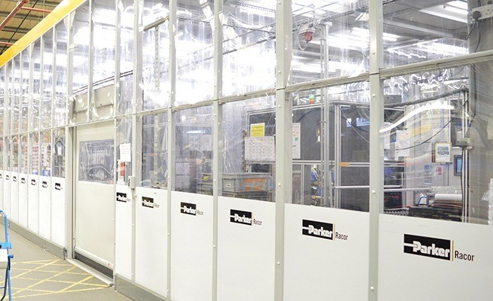 Parker Hannifin Production Cleanroom