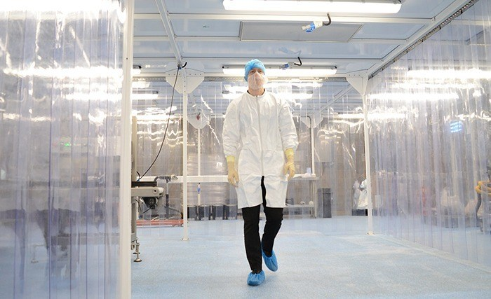 ISO Class 8 cleanroom food production