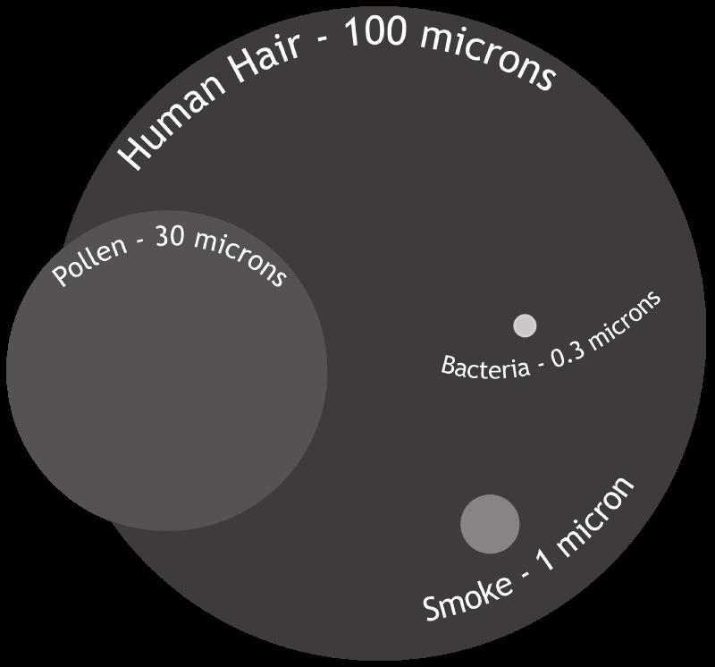Wie groß ist ein Mikron