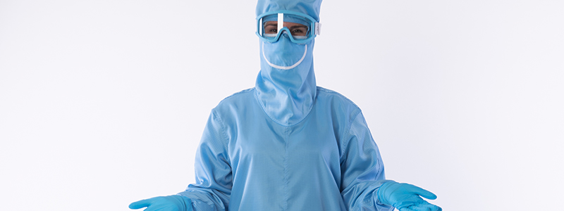 Cleanroom suit rental
