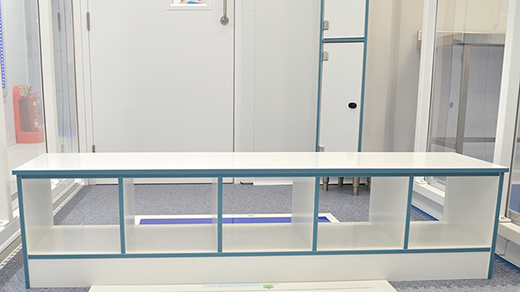 Sealwise Step Over Bench and Locker