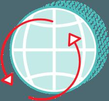 Globale Reichweite